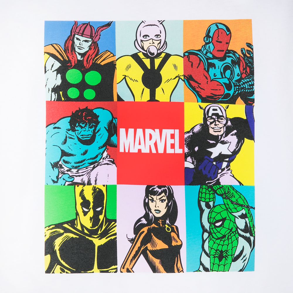 Marvel Avengers Color Block T-Shirt for Men by Our Universe