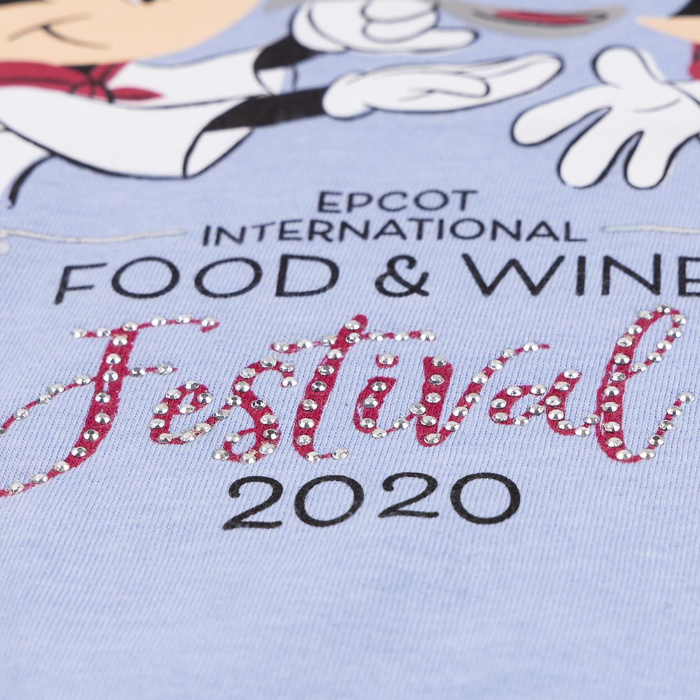 Mickey and Minnie Mouse Tank Top for Women – Epcot International Food & Wine Festival 2020