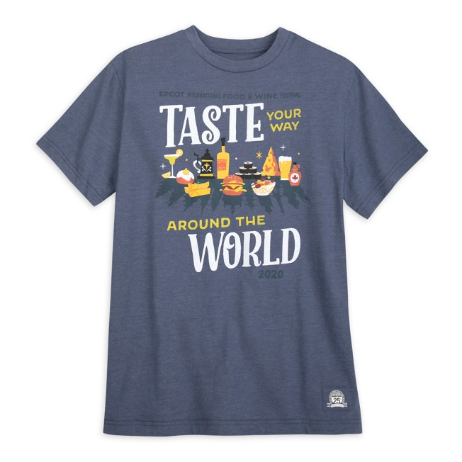 Epcot International Food & Wine Festival 2020 T-Shirt for Adults