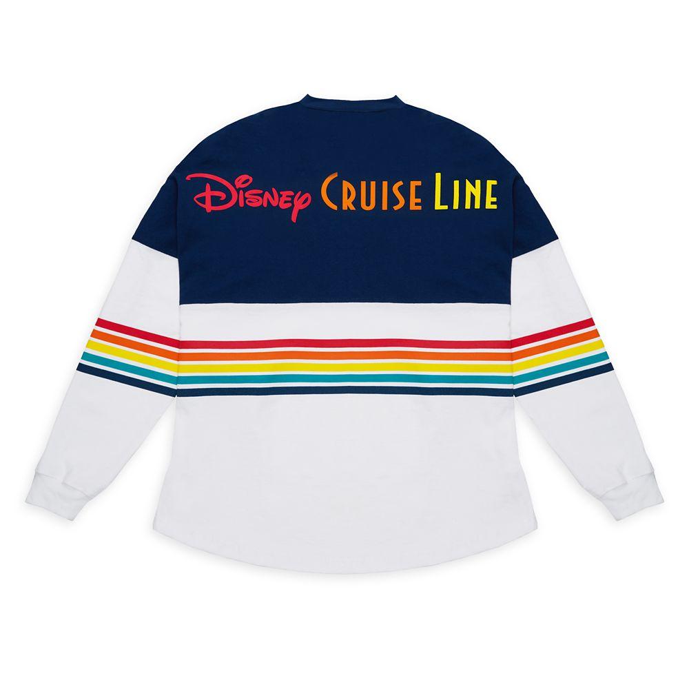 Disney Cruise Line Rainbow Spirit Jersey for Adults