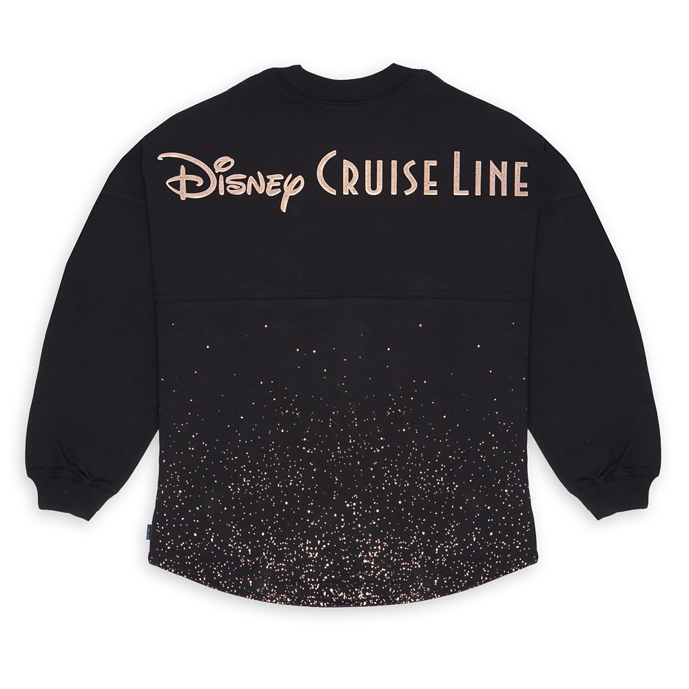 Disney Cruise Line Rose Gold Glitter Spirit Jersey for Adults