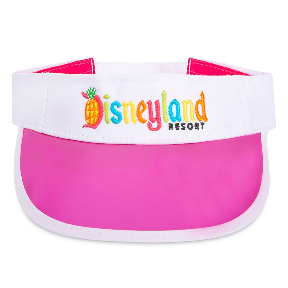 Disneyland Tropical Logo Visor for Adults