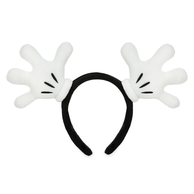 Mickey Mouse Gloves Ear Headband