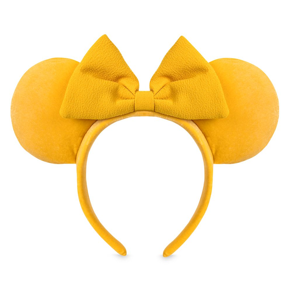 Minnie Mouse Ear Headband – Saffron Yellow