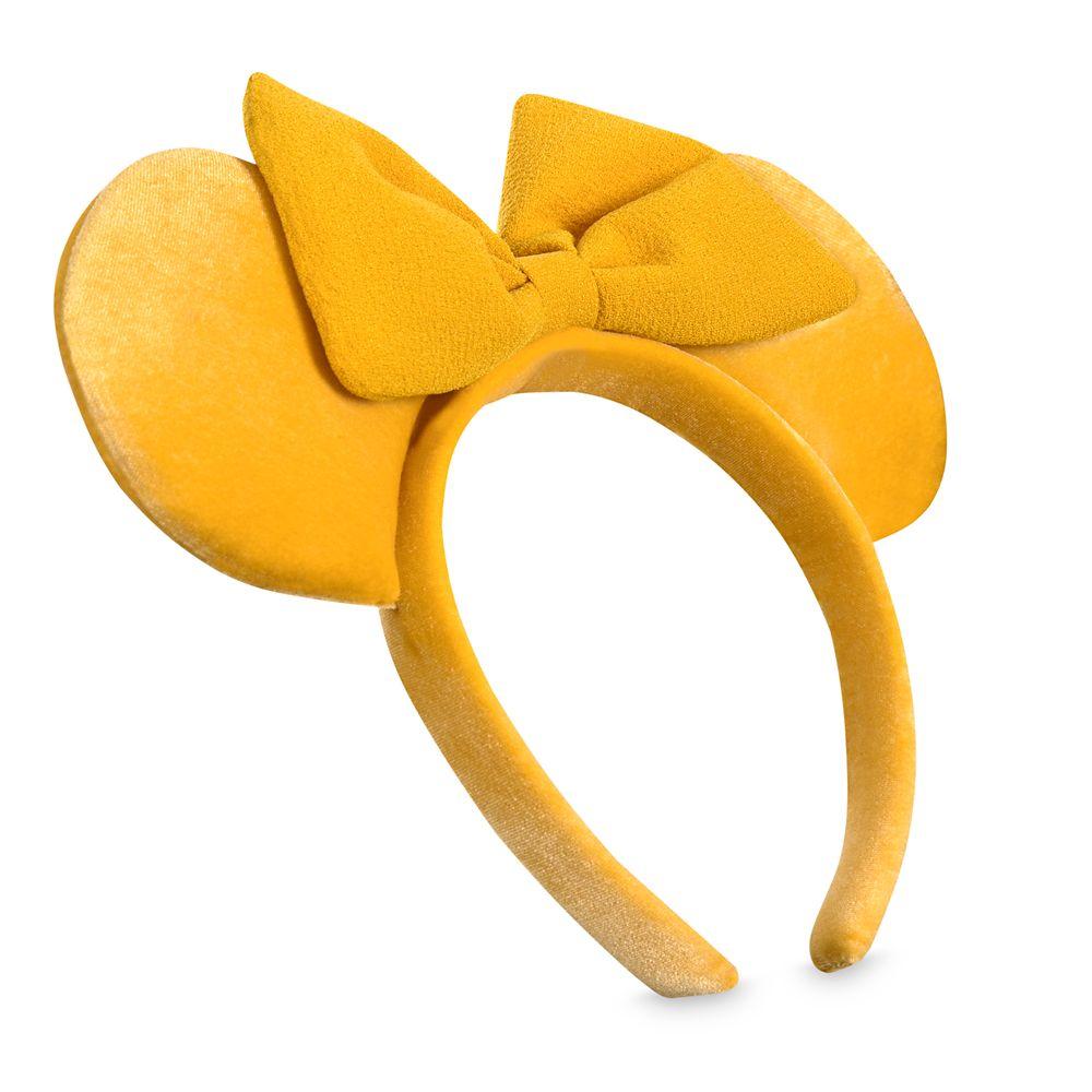 Minnie Mouse Ear Headband – Saffron Yellow