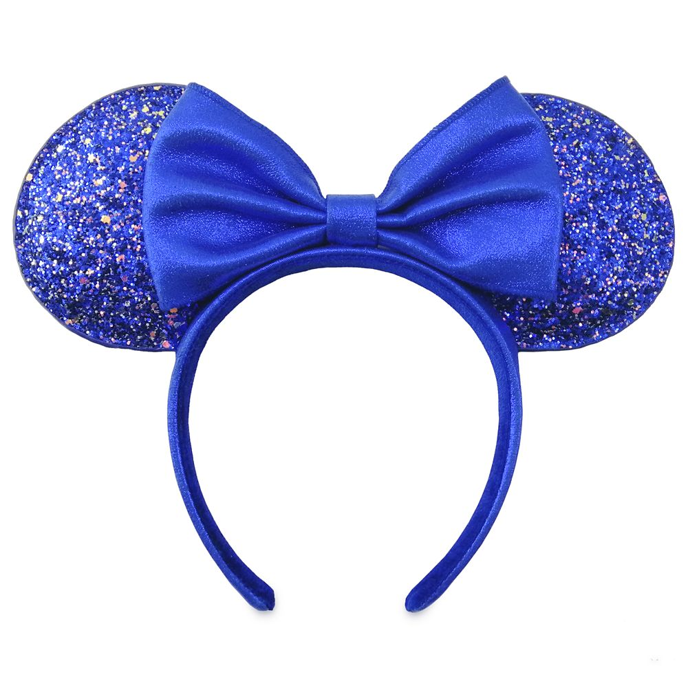 Minnie Mouse Ear Headband –  Wishes Come True Blue