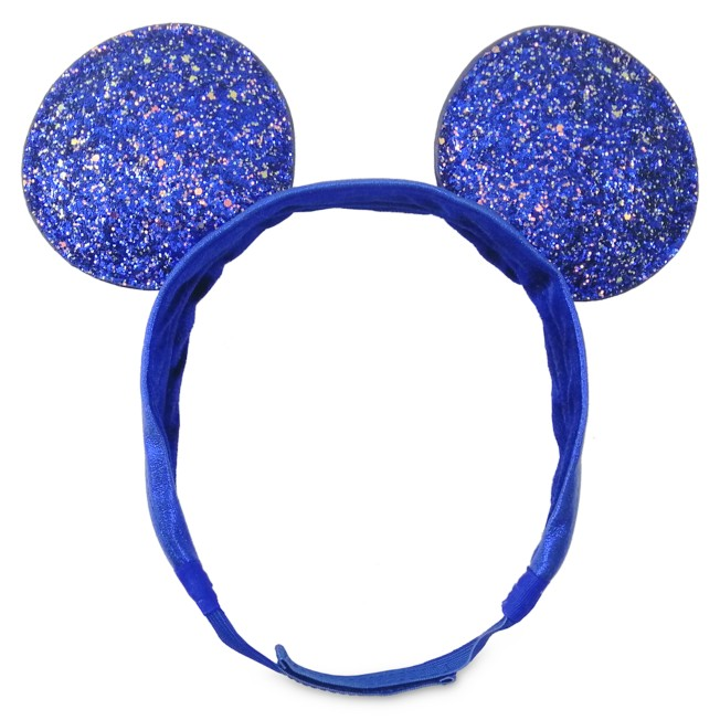 Mickey Mouse Adjustable  Ear Headband – Wishes Come True Blue