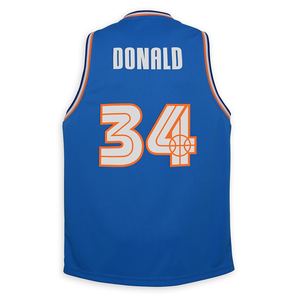 Donald Duck Hot Shots Basketball Jersey for Adults – NBA Experience