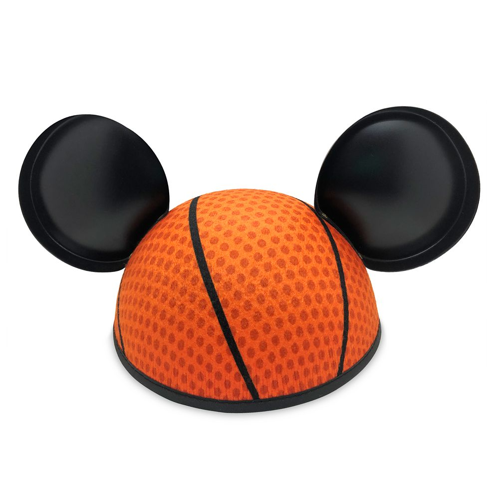 Mickey Mouse NBA Experience Ear Hat for Adults