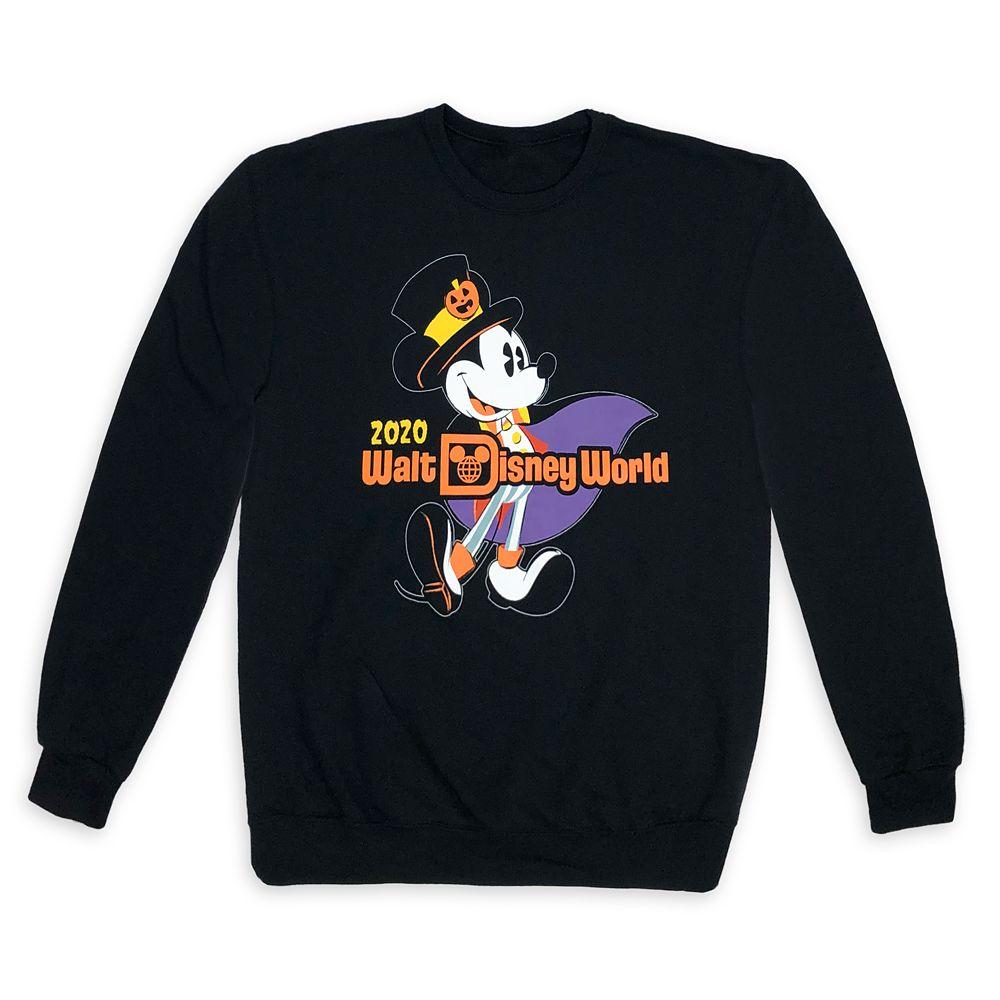 Mickey Mouse Halloween 2020 Sweatshirt for Adults – Walt Disney World