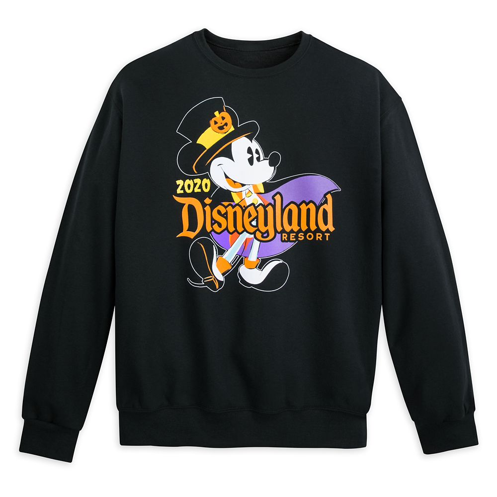Disneyland Resort Halloween 2020 Mickey Mouse Halloween 2020 Sweatshirt for Adults – Disneyland