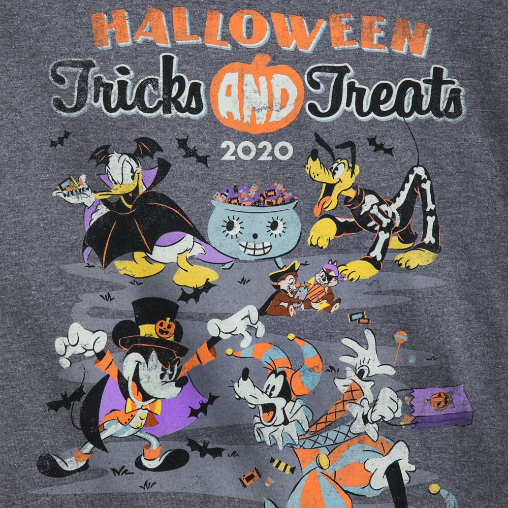 Mickey Mouse and Friends Halloween 2020 T-Shirt for Adults – Walt Disney World