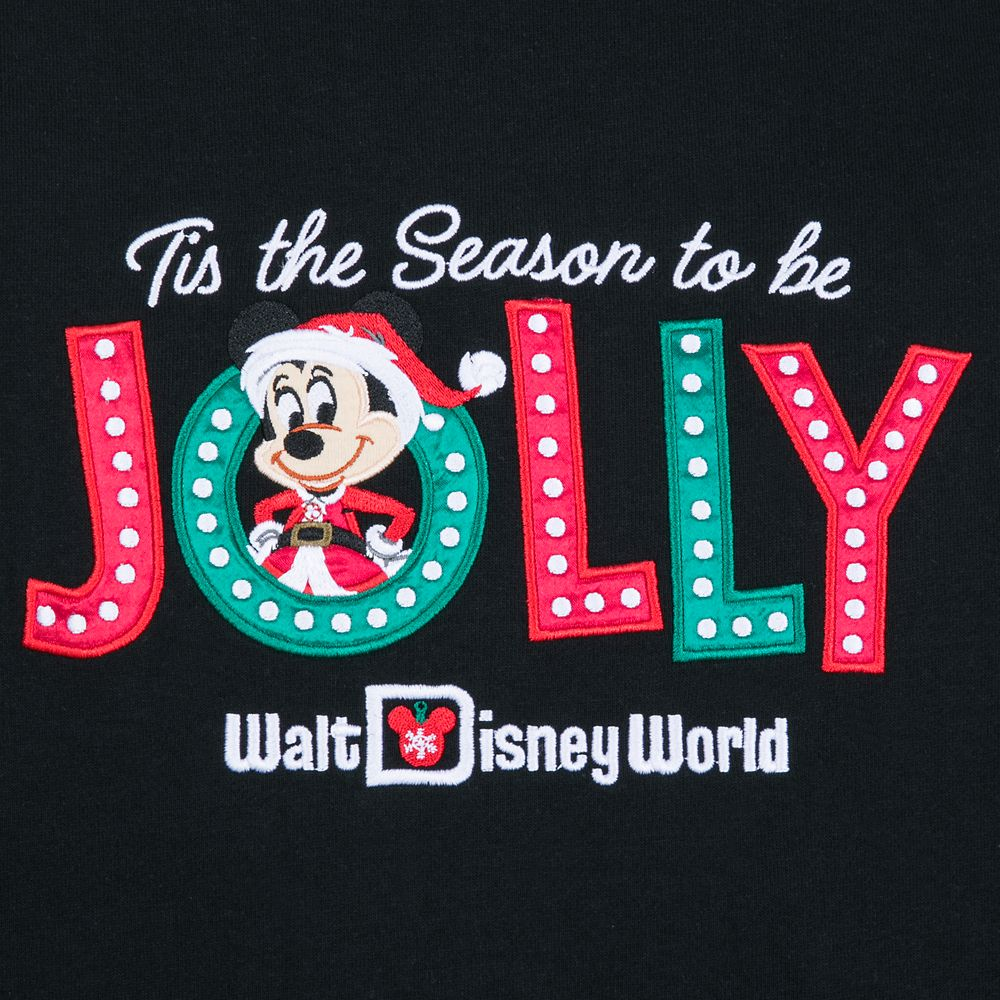 Santa Mickey Mouse Holiday Zip Hoodie for Women – Walt Disney World