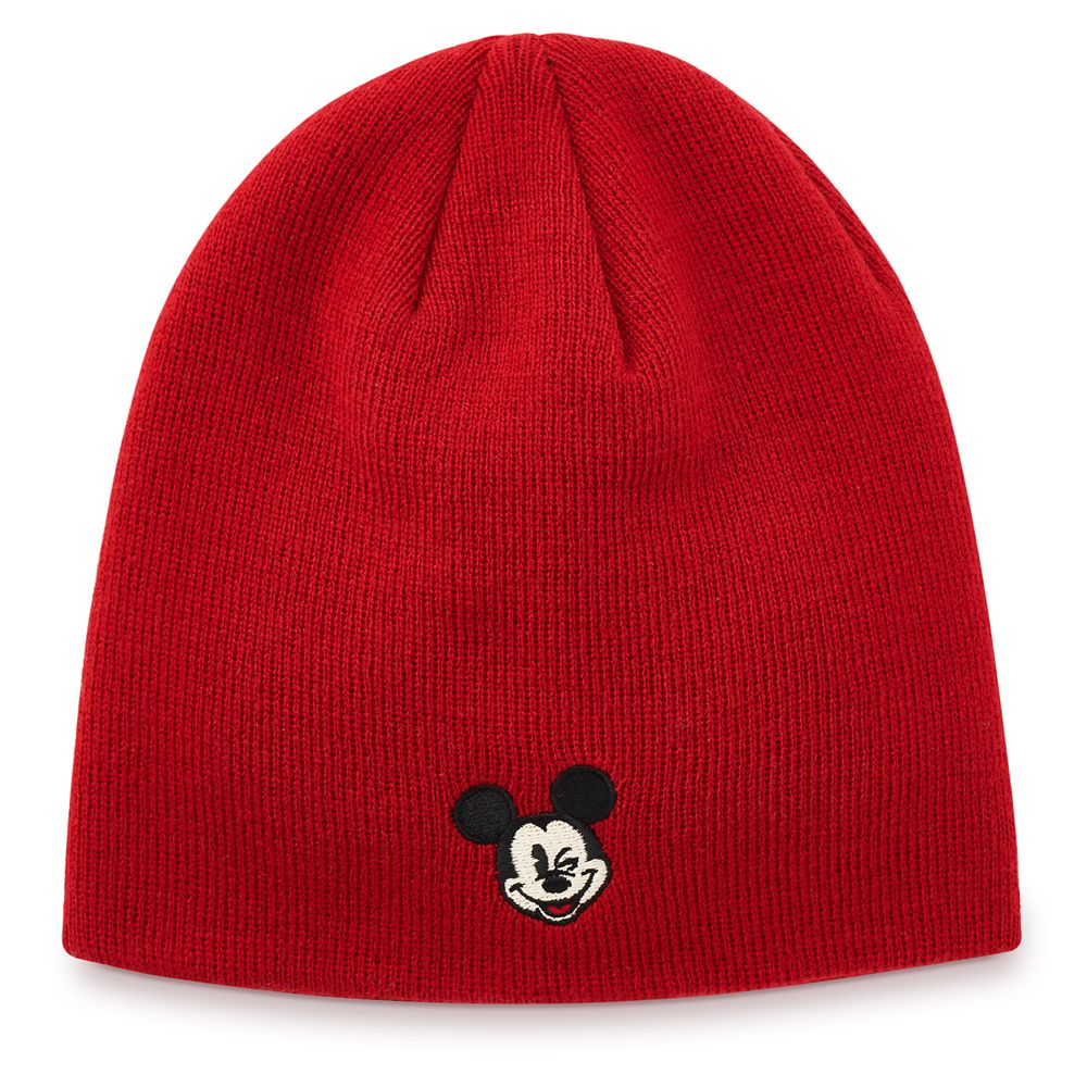 Mickey Mouse Knit Beanie for Adults