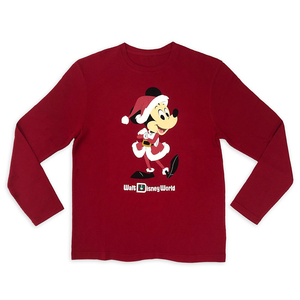 Santa Mickey Mouse Holiday Pullover for Men – Walt Disney World