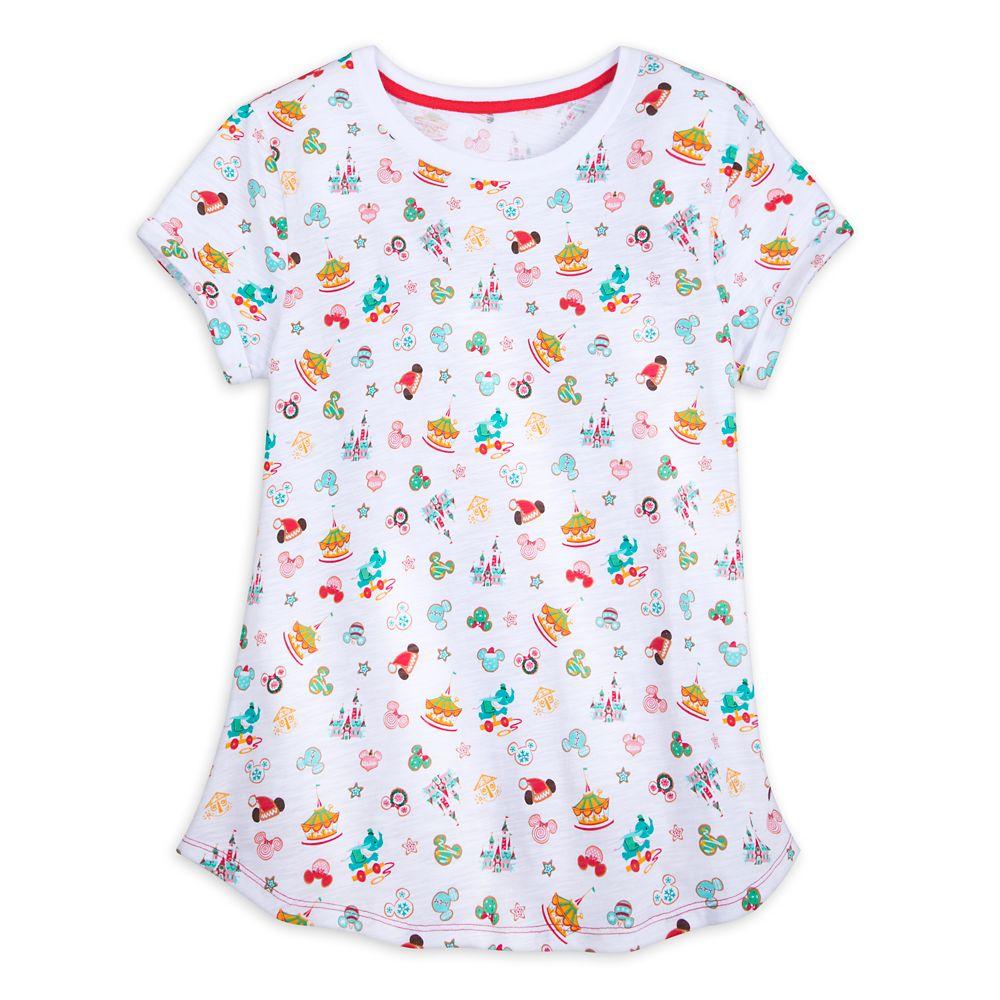 Fantasyland Holiday T-Shirt for Women Official shopDisney