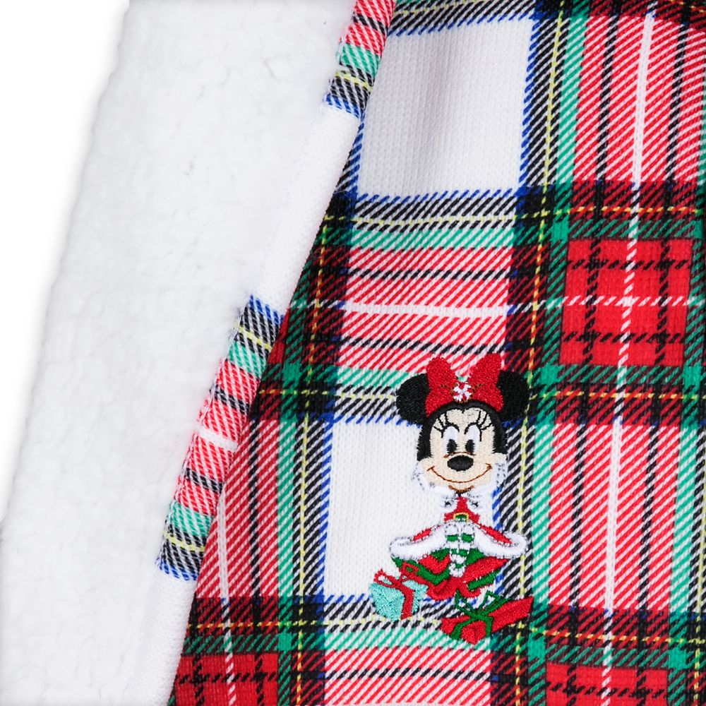 Minnie Mouse Holiday Sherpa Cardigan for Women