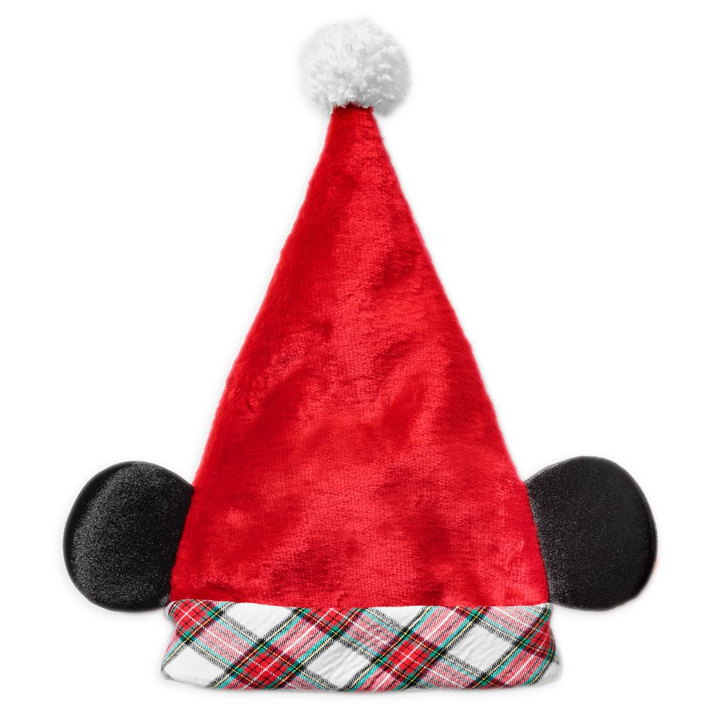 Mickey Mouse Santa Hat for Adults