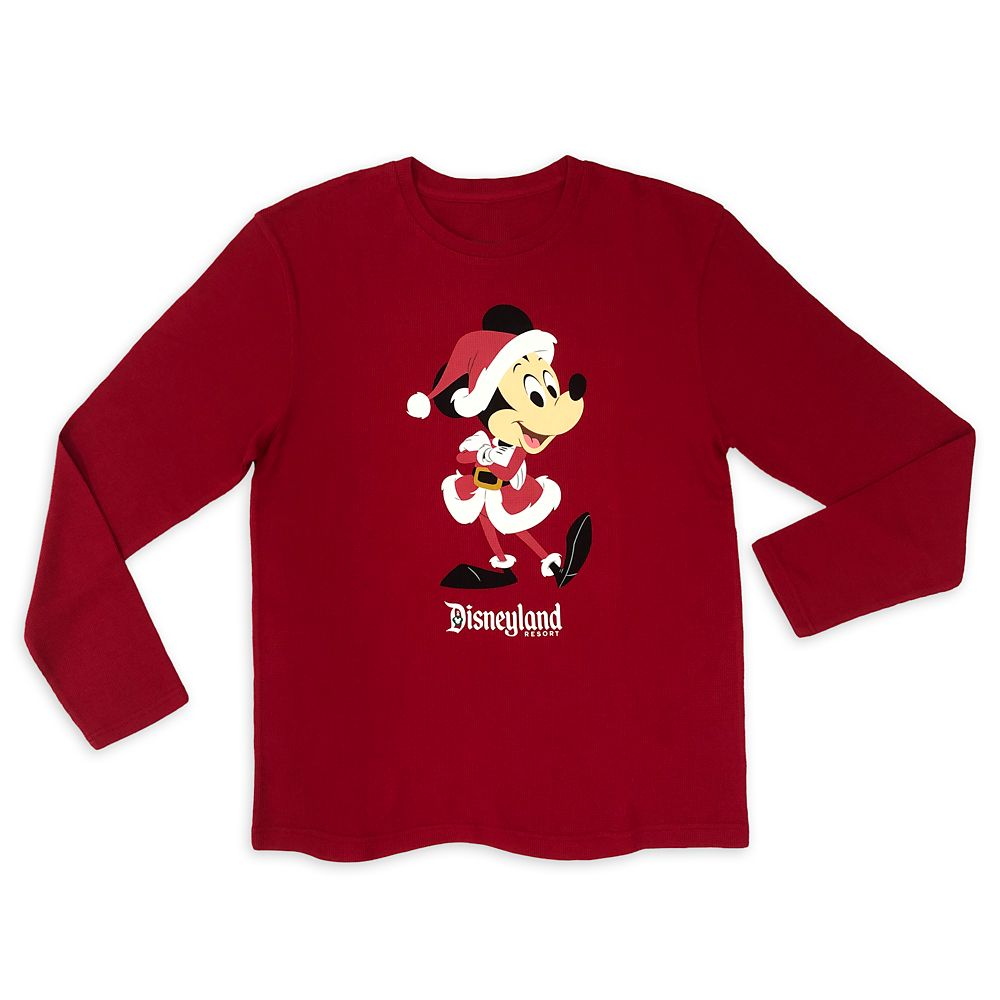 Santa Mickey Mouse Holiday Pullover for Men – Disneyland