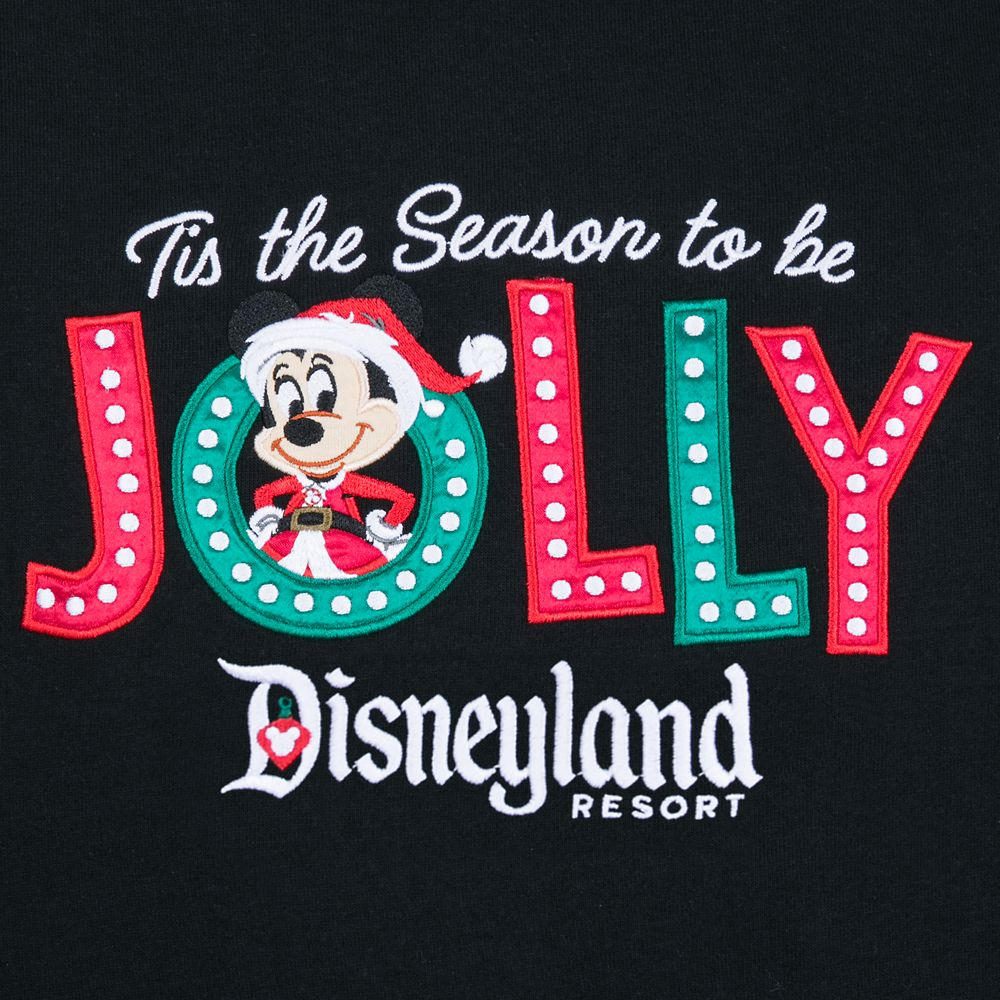 Santa Mickey Mouse Holiday Zip Hoodie for Women – Disneyland