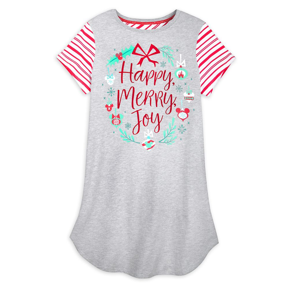 Mickey and Minnie Mouse Icon Holiday Nightshirt for Women