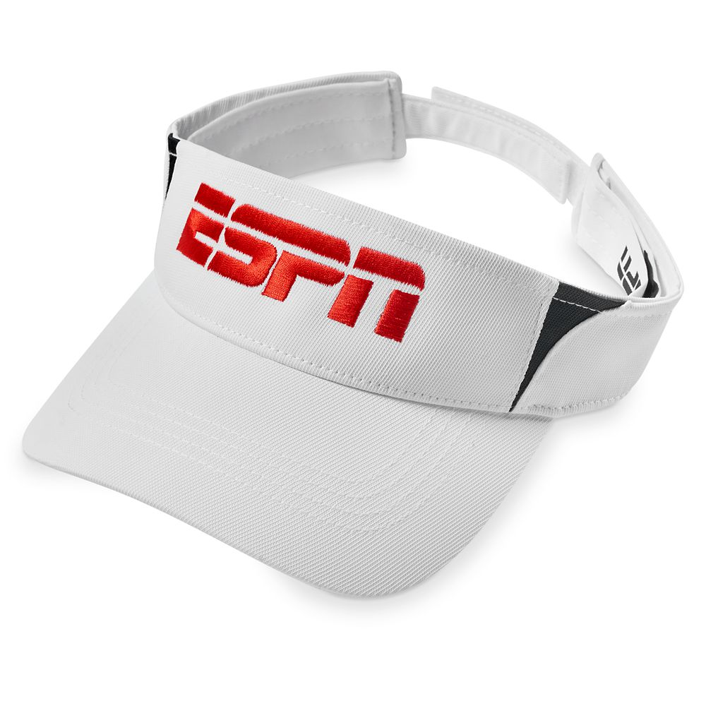 ESPN Embroidered Visor for Adults