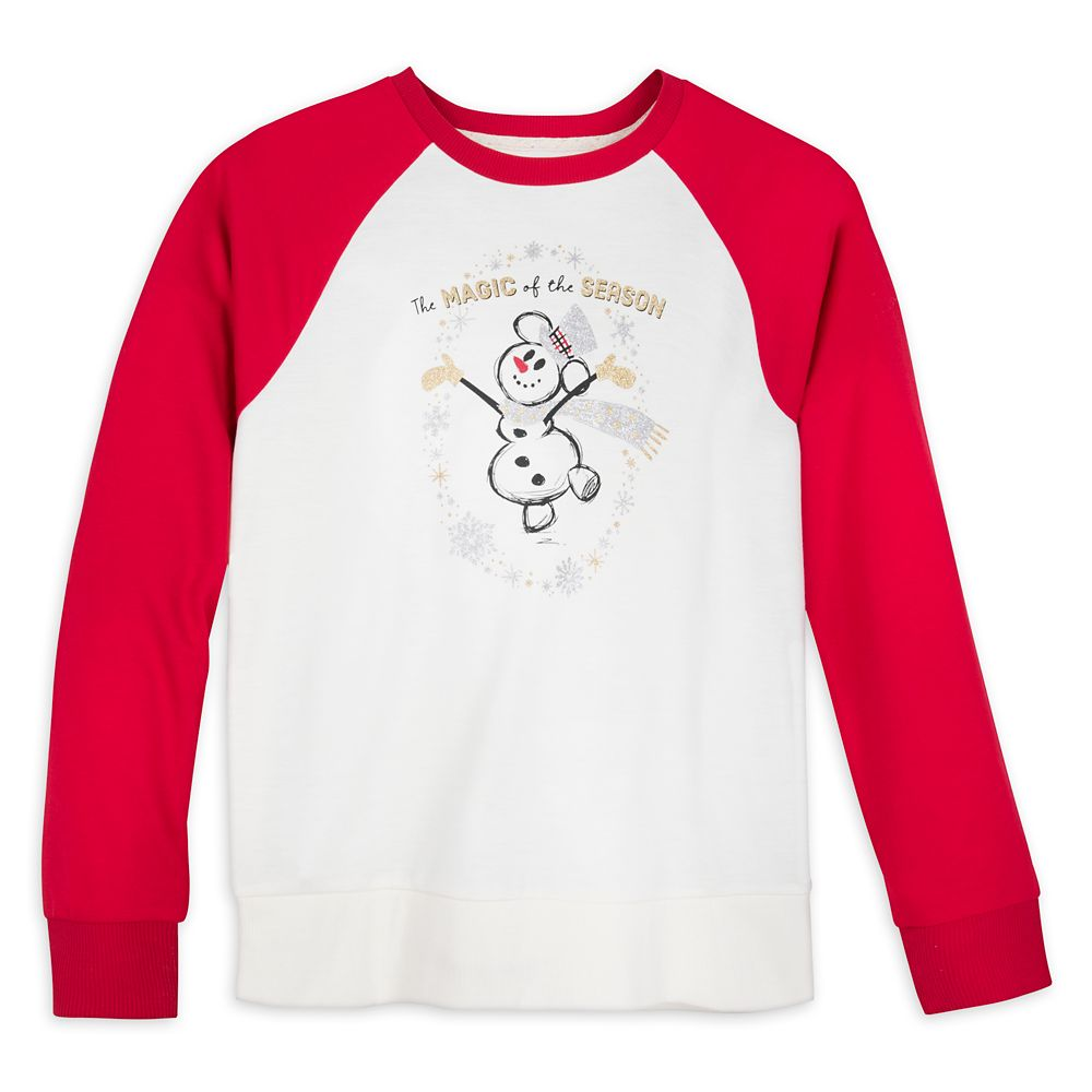 Mickey Mouse Silver and Gold Raglan T-Shirt for Women