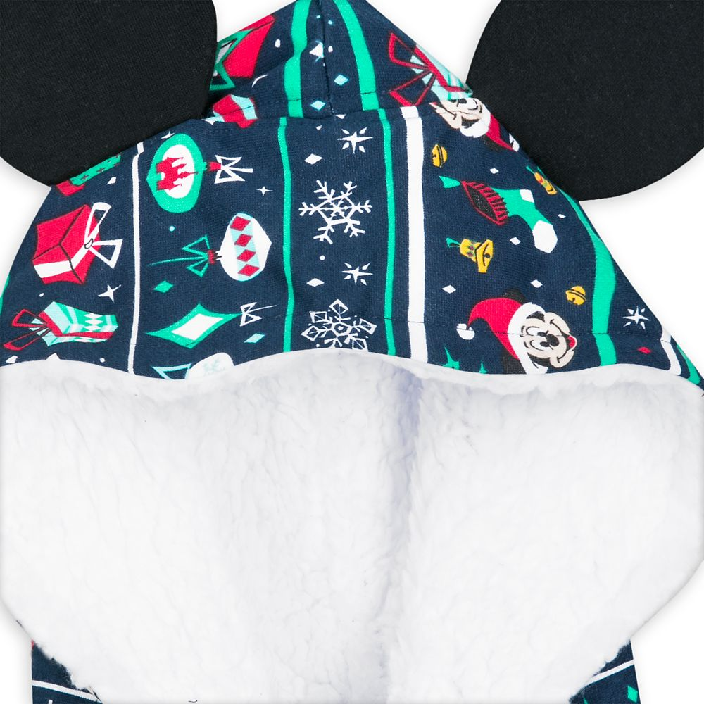 Mickey Mouse Holiday Bodysuit Pajama for Men