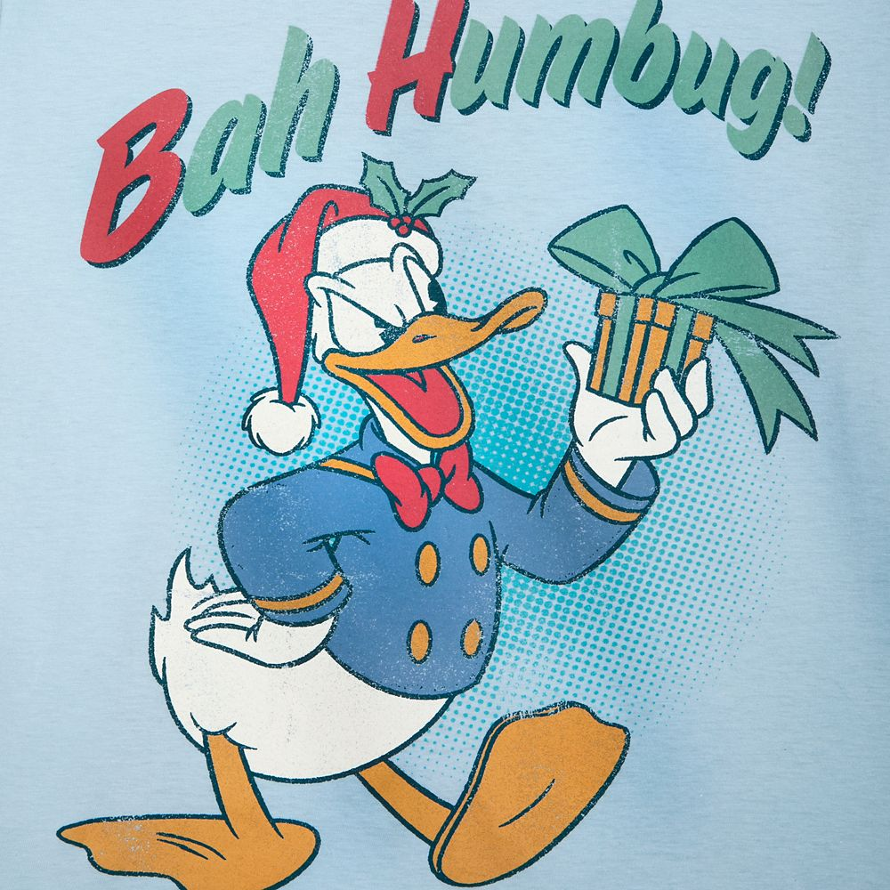 Donald Duck Holiday T-Shirt for Adults