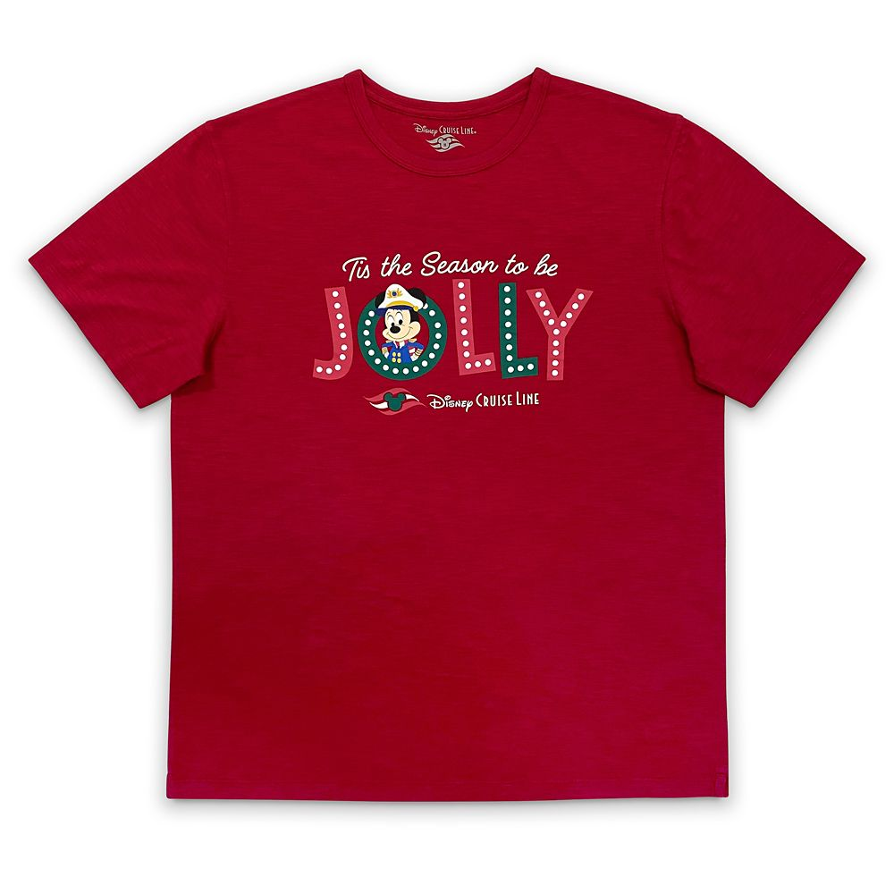 Disney Cruise Line Holiday T-Shirt for Adults