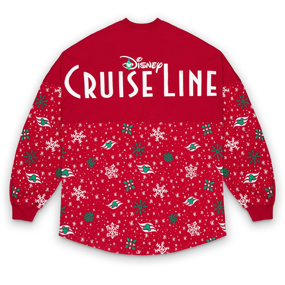 Disney Cruise Line Holiday Spirit Jersey for Adults