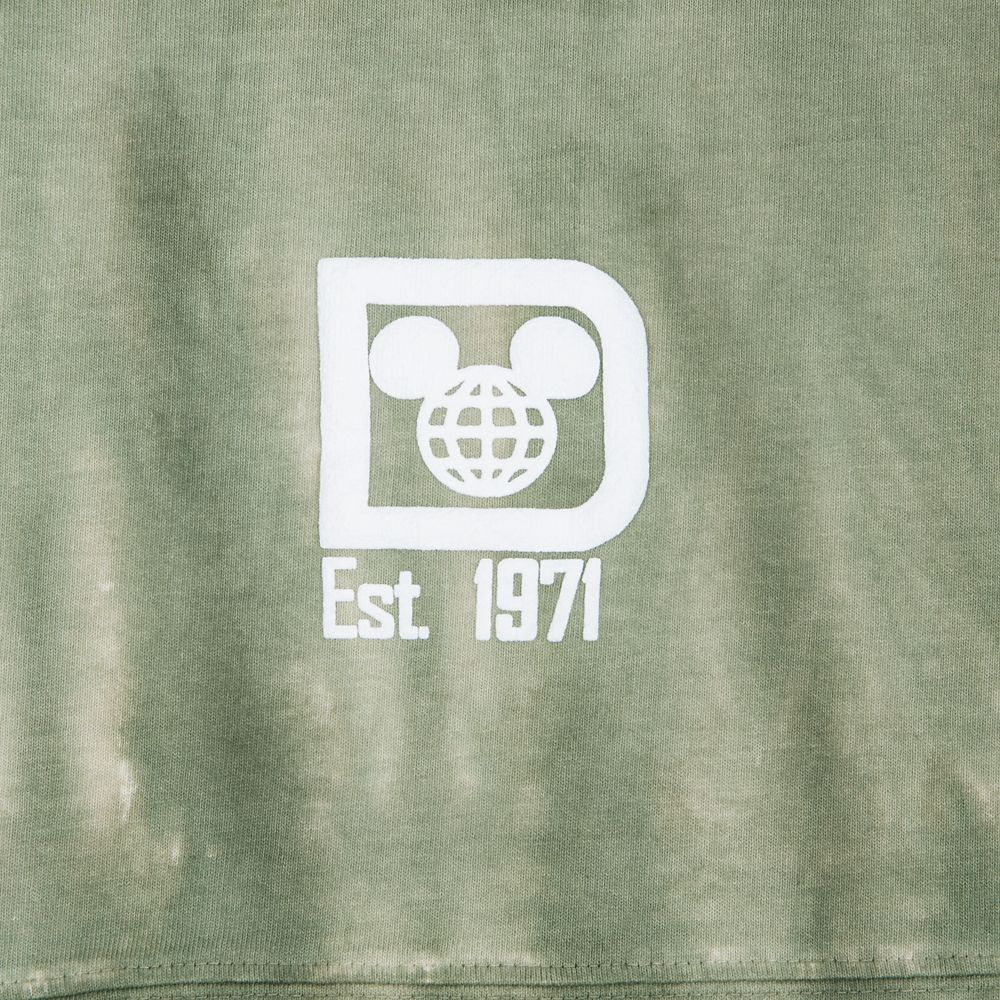 Walt Disney World Spirit Jersey for Adults – Tie-Dye Sage