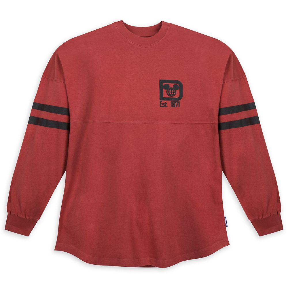 Walt Disney World Spirit Jersey for Adults – Brick Red