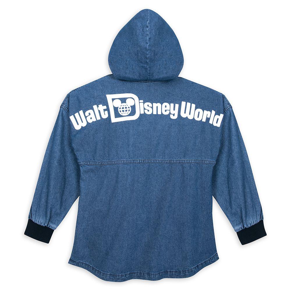Walt Disney World Hooded Denim Spirit Jersey for Adults