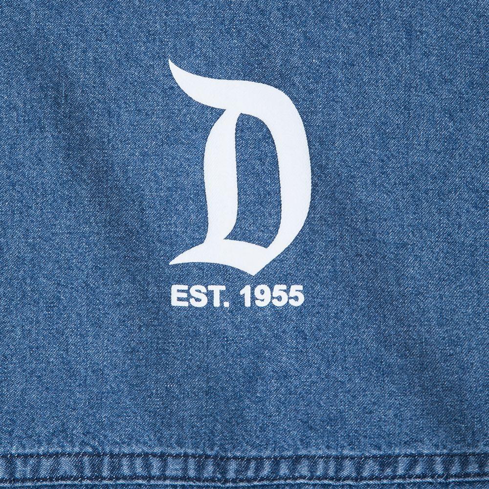 Disneyland Hooded Denim Spirit Jersey for Adults