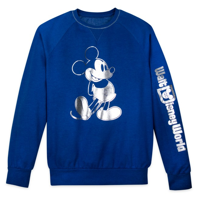 Mickey Mouse Sweatshirt for Adults – Walt Disney World – Wishes Come True Blue