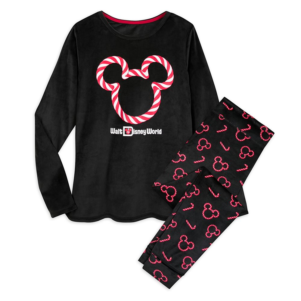 Mickey Mouse Holiday Velour Pajama Set for Women – Walt Disney World