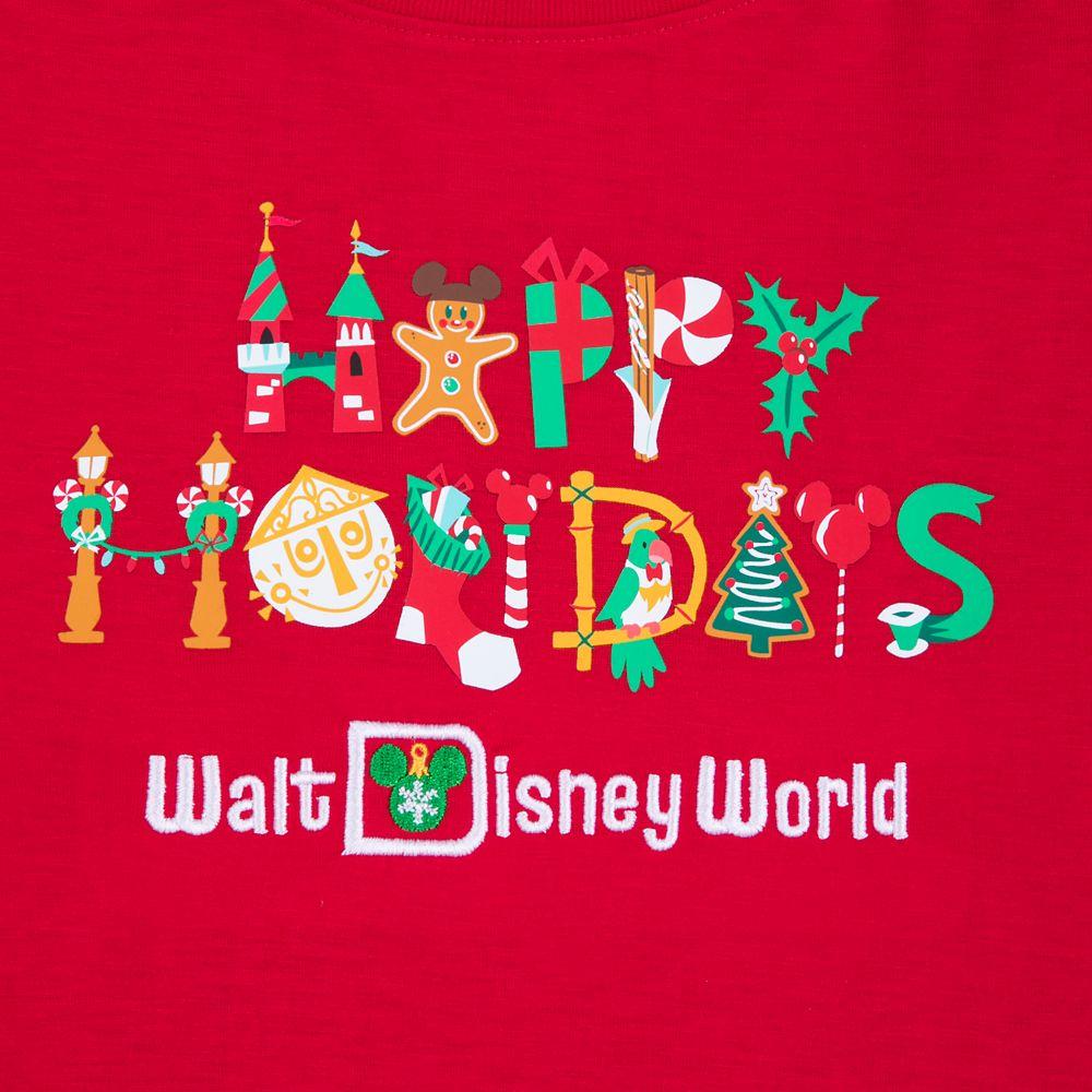 Walt Disney World ''Happy Holidays'' T-Shirt for Women