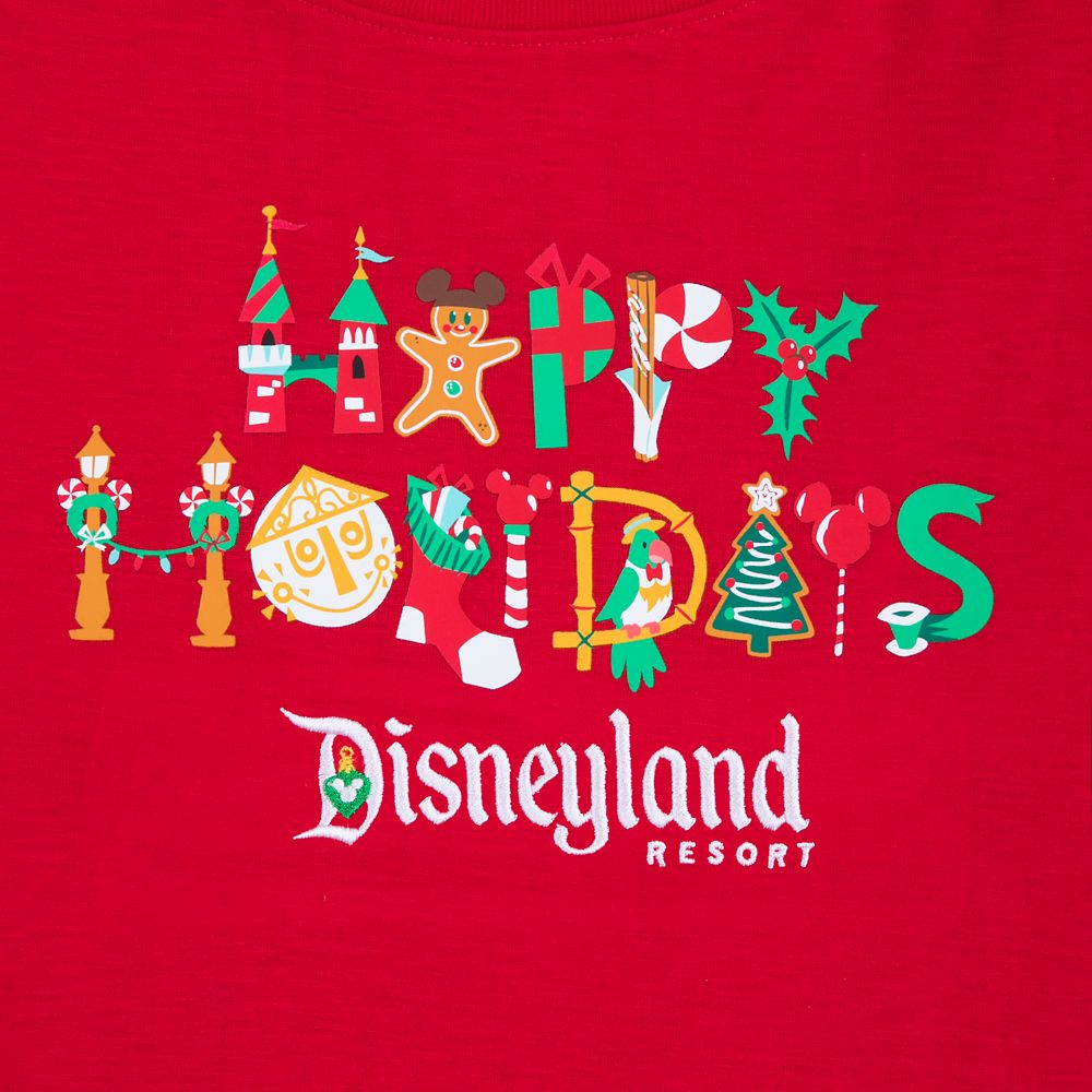 Disneyland ''Happy Holidays'' T-Shirt for Women
