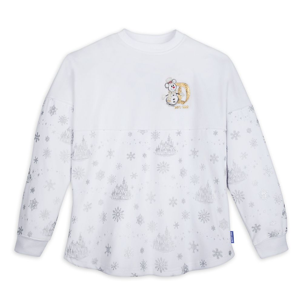 Mickey Mouse Silver and Gold Spirit Jersey for Adults – Disneyland