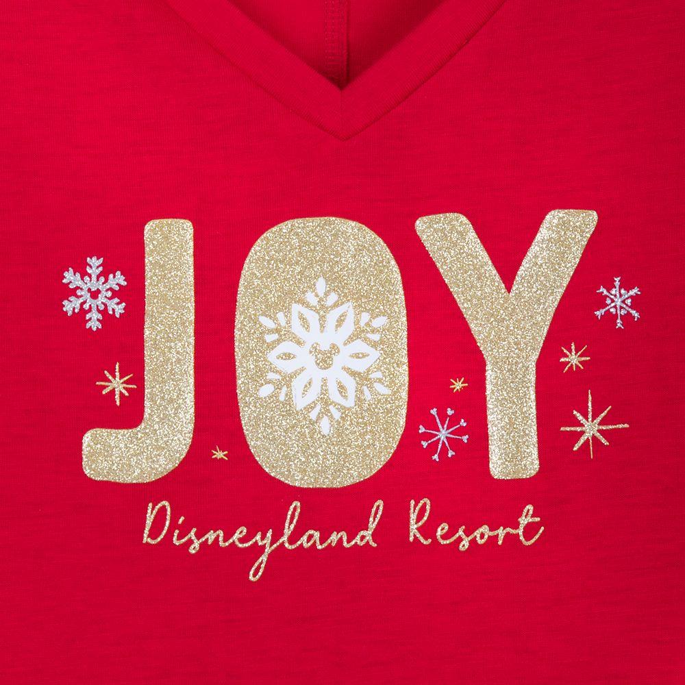 Disneyland ''Joy'' Holiday T-Shirt for Women