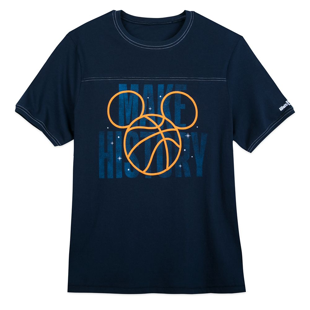 Mickey Mouse Basketball ''Make History'' T-Shirt for Men – NBA Experience