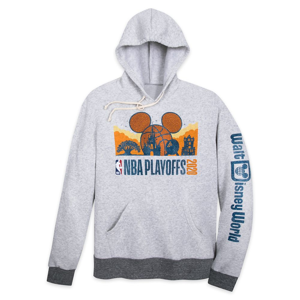 Mickey Mouse Basketball ''NBA Playoffs 2020'' Hooded Pullover for Men – NBA Experience