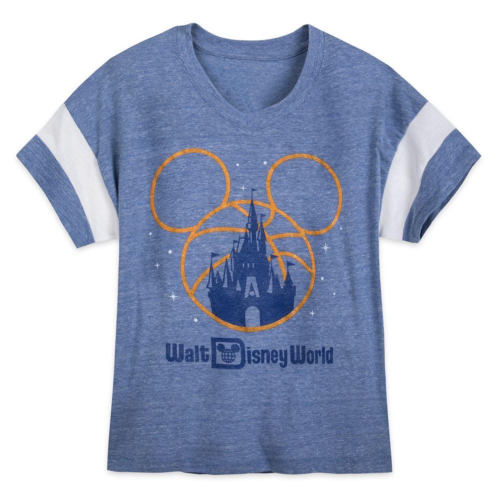 Mickey Mouse Basketball Walt Disney World T-Shirt for Women – NBA Experience