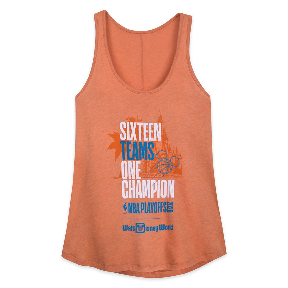 ''Sixteen Teams, One Champion'' Tank Top for Women – NBA Experience