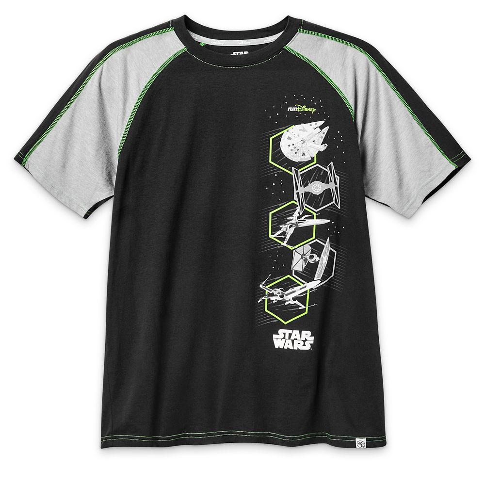 Star Wars Vehicles runDisney T-Shirt for Men
