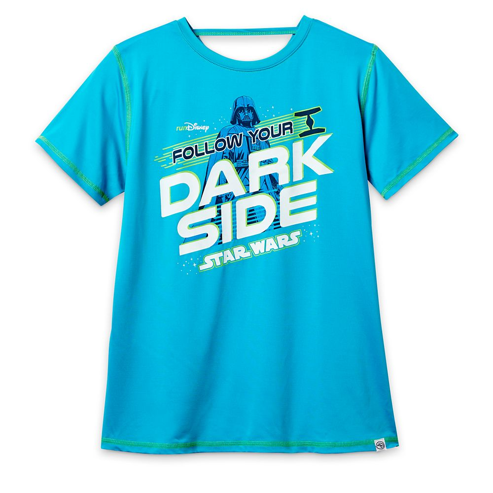Star Wars ''Follow Your Dark Side'' Performance T-Shirt for Women – runDisney