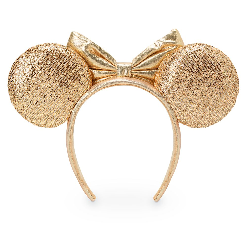 Minnie Mouse Champagne Ear Headband for Adults
