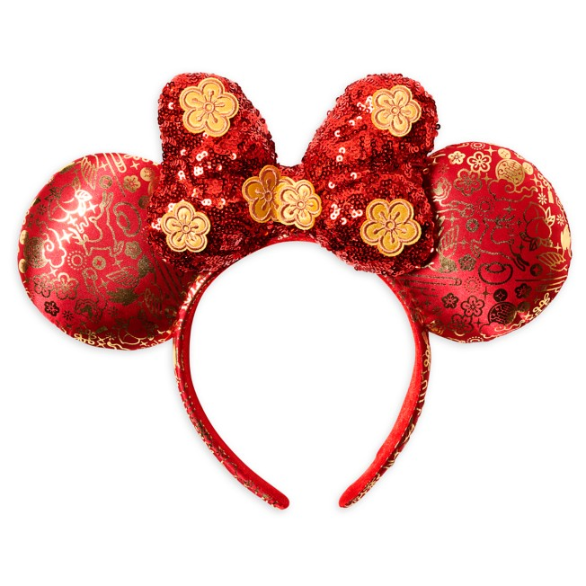 Minnie Mouse Ear Headband for Adults – Lunar New Year 2021