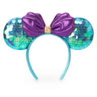 Ariel Sequin Minnie Mouse Ear Headband